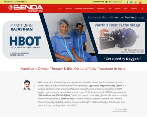 Website development for Acupuncture