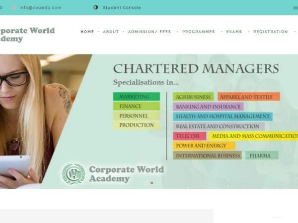 Corporate World Academy