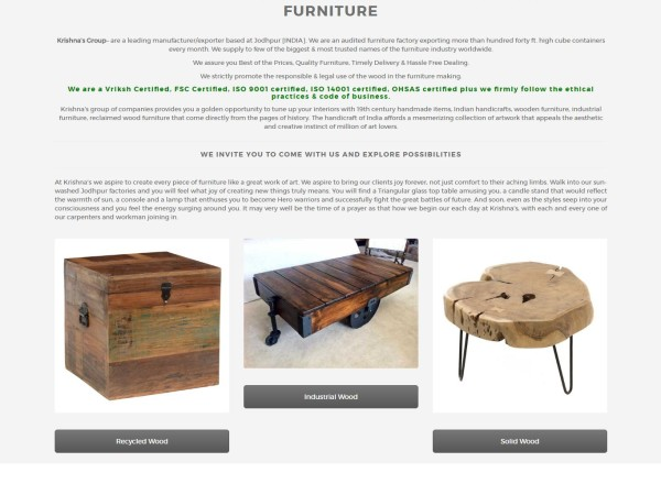 krishna's group Furniture
