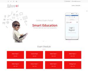 Online Exam Portal Development