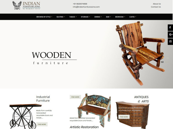 Indian Furniture Zone