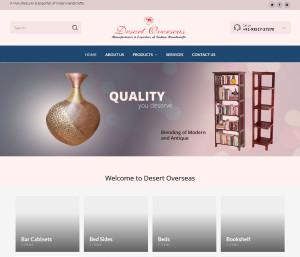 Website development for Handicraft