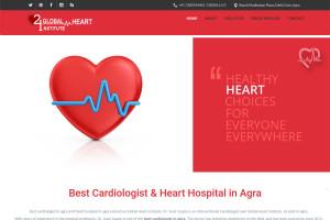Website development for cardiologist