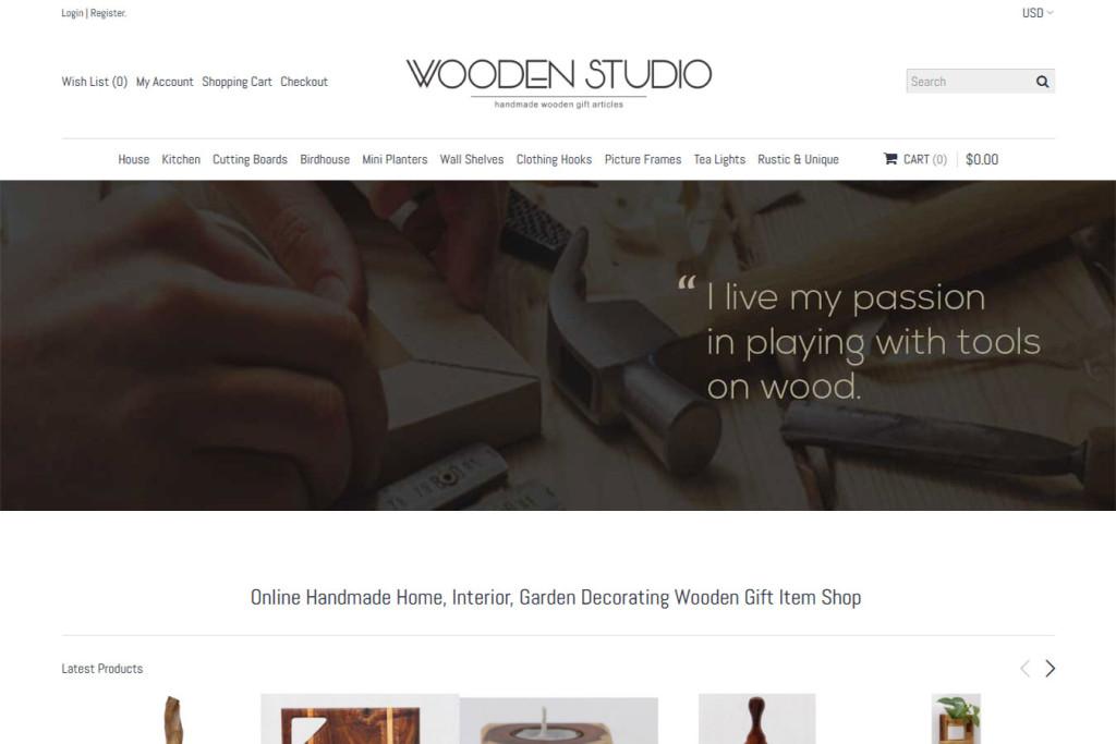 Wooden-studio