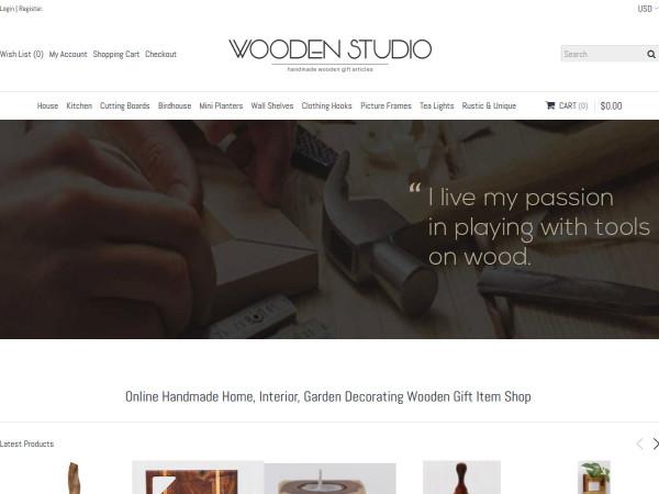 Wooden studio